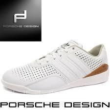 Mens Adidas Porsche Design Shoes Adidas Porsche Design Drive 550 Typ 64 White Shoes Bounce Mens Leather Q23155