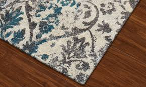 modern grey collection area rug taupe haynes furniture picture of modern greys collection damask teal 5x8 rug