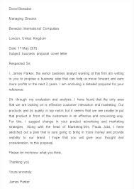 Business Proposal Request Letter Sample For Services