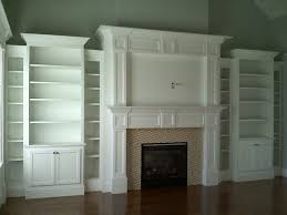 fireplace built ins traditional family room