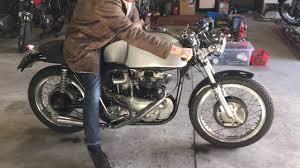 pre unit 1957 triton for sale at we sell classic bikes youtube
