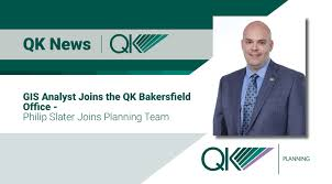 Gis Analyst Gis Analyst Joins Qk Bakersfield Office Philip Slater Joins