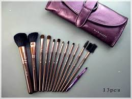 portable leather pouch included with brush set 24 piece mac makeup makeup brush set sigma professional