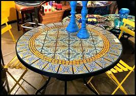60 inch glass table top home decor fetching mosaic patio table and tile glass tables pics with amazing inch round top 60 glass table top