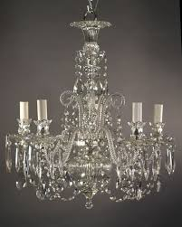image of antique crystal chandeliers