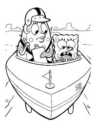 Patrick Met Sponge Kleurplaat Gratis Kleurplaten Printen
