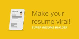 Super Resume Extraordinary Super Resume Builder Helps To Make Resumes On Mobile Crosses 40k