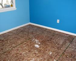 fix squeaky floors after removing carpeting