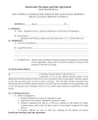 Sale Agreement Forms Estate Sale Contract Template Commercial Real Forms Texas