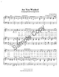 lord i need you sheet music the church pianist blessed assurance