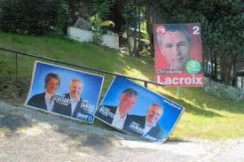 """Résultat de recherche d'images pour """"elections communales affichage sudpresse"""""""