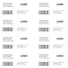 Free Return Address Label Templates Per Sheet Template Shipping Word