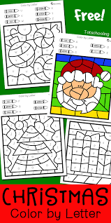 This one is supposed to help my fellow efl and esl teachers find printable teaching resources designed by me to introduce letter e to kids. Christmas Color By Letter Totschooling Toddler Preschool Kindergarten Educational Printables