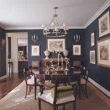 colors to paint a dining room. Room Ideas · Mary McDonalk - Dark Blue Dining W/wood Tones Colors To Paint A X