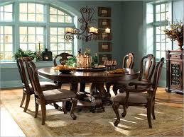 round dining room table seats 8 collection in rustic round dining table for 8 round dining