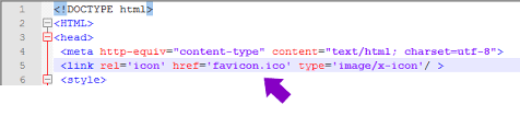 Html How To Add A Favicon 101 Computing