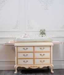 solid wood baby furniture. european style baby furniture changing bed luxury and antique solid wood diaper table