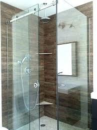 hinged glass shower door repair hinged glass shower door repair sweep custom doors seal cleaning glass