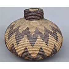 woven basket with lid. Woven Basket With Lid
