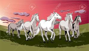horses running in the wind. Simple Running Vector  White Horses Running Free In The Wild Wind To Horses Running In The Wind A