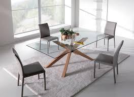 Tavoli Da Pranzo In Legno Design : Tavoli cucina vetro e acciaio design con la moderna