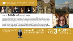 visual thinker lecture series wilkinson college of arts saskia beranek