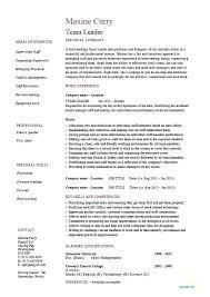 resume leadership examples team leader resume supervisor example template  sample jobs work organizational leadership resume examples