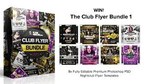 Giveaway: 72 Photoshop Psd Nightclub Flyer Templates From ...