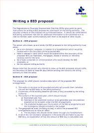 Painting Bid Proposal Templates Elegant Bid Proposal Template For ...