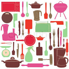 kitchen tools vector.  Tools Vector Illustration Of Kitchen Tools For Cooking  Stock Colourbox With Kitchen Tools