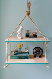 hanging rope shelf how to