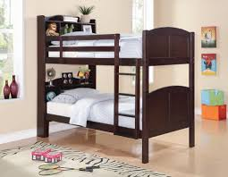 stair bookcase furniture. Coaster Parker Twin Bookcase Bunk Bed With Built-In Ladder - Fine Furniture Stair