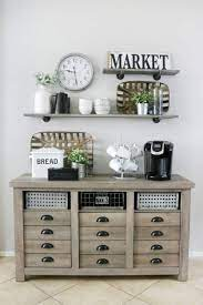 It's great as a coffee station, but offers tons of storage. 42 Adorable Coffee Station Ideas For A Blissful Coffee Time