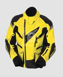 teknic chicane yellow blonde black biker jacket