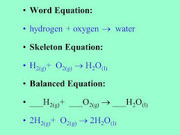 chemical equations and reactions ppt word equation definition jennarocca