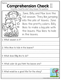 Story-comprehension-worksheets & Worksheet. Wh Questions