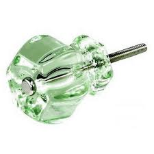 green glass drawer pull vintage glass door knobs antique cabinet handle t42