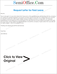 Best Ideas Of 10 Vacation Letter Template Free Sample Example Format