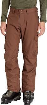Burton Mens Cargo Pant Mid Chestnut X Small 34