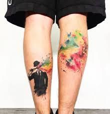25 Brilliant Leg Tattoos Youll Want Right Away Blazepress
