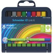 """<b>Набор капиллярных</b> ручек <b>Schneider</b> """"Link-It"""" 08цв., 0,4мм ..."""