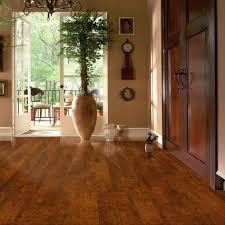 hdf laminate flooring fit wood look home cherry bronze