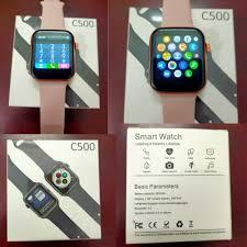 Smartwatch C500] Đồng hồ thông minh C500 lắp sim - Nghe gọi độc lập - Thiết  kế Series 6 - Có thẻ nhớ - Tiếng việt - Đồng hồ thông minh