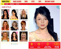 virtual hairstyleakeover free virtual hairstyles