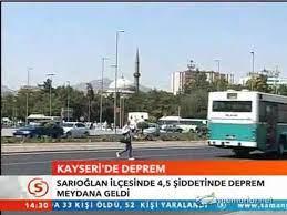 Kayseri'de 4.5 şiddetinde deprem - Dailymotion Video