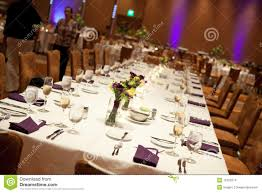Wedding Reception Head Table Stock Images Image 16123274