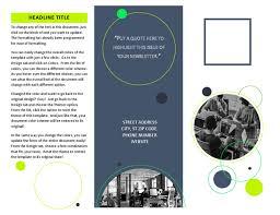 Templates For Brochure Brochures Office Com