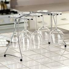 wine glass rack wine glass rack under cabinet ikea