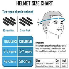 Teamobsidian Funwave Kids Bike Helmet Adjustable From Ages 3 To 8 Blue Shark