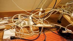 office cable management. Office Cable Management